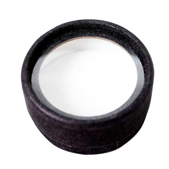 Round black lashes cases