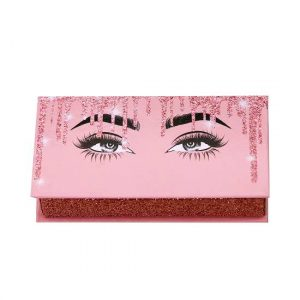 unique cute pink lashes box
