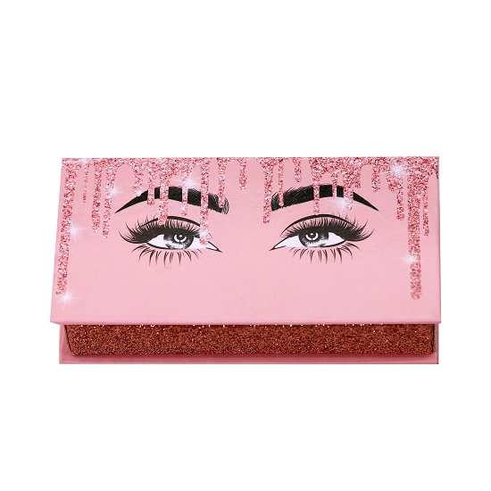unique cute pink lashes box