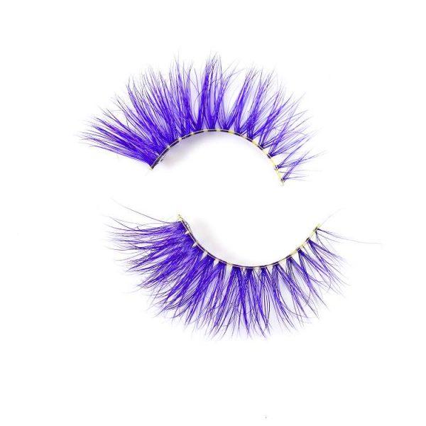 wholesale colorful mink eyelash CD78